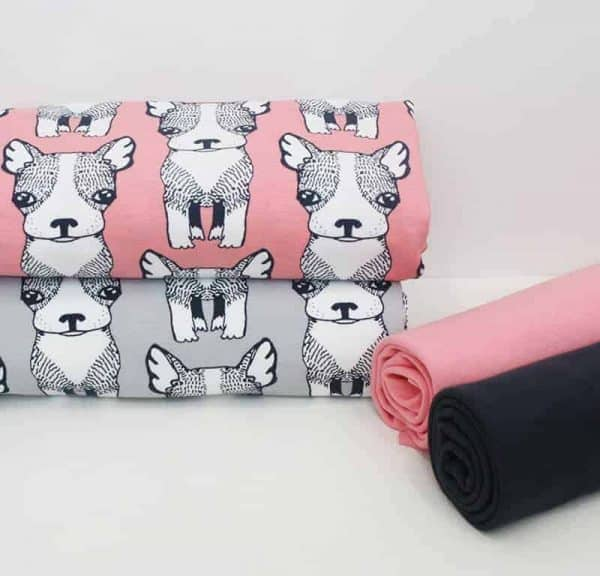 Majapuu Puppies warm pink Majapuu2B