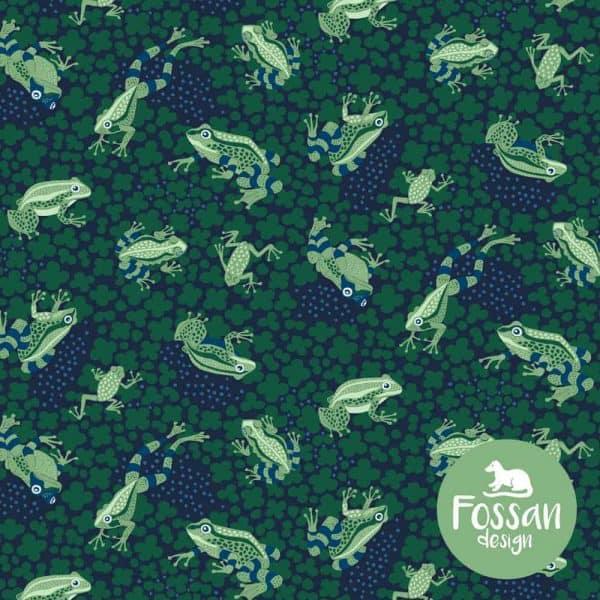 Fossan- Kikkers Blauw frogs dark