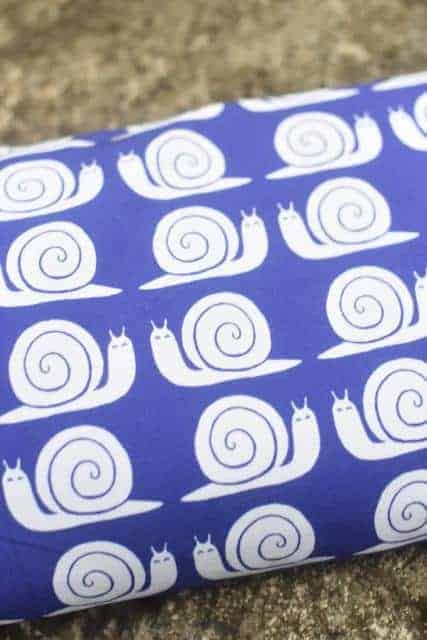 Tradsnella - Snail Blue snail blue