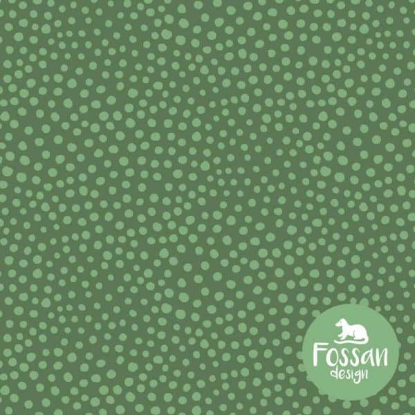 fossan stone dots green