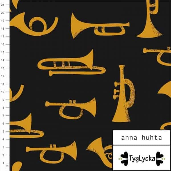 Tyglycka - Trumpets Dark Grey trumpets dark grey1 1