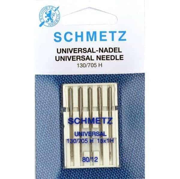Schmetz - Universeel naalden (NM80/12) naalden universeel maat 80