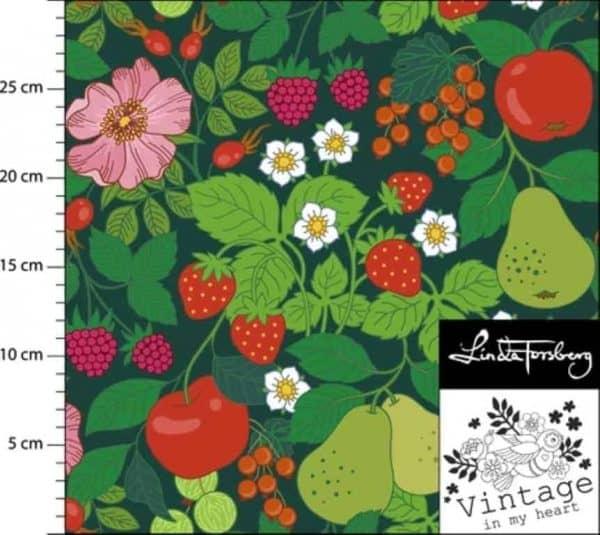 Vintage in my Heart- Selmas Garden groen (Tricot) SELMAS GARDEN JERSEY FABRIC 2 460x Middel