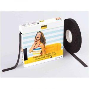Vlieseline flexibel naadband zwart