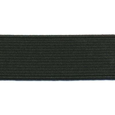 elastiek zwart 2,5cm