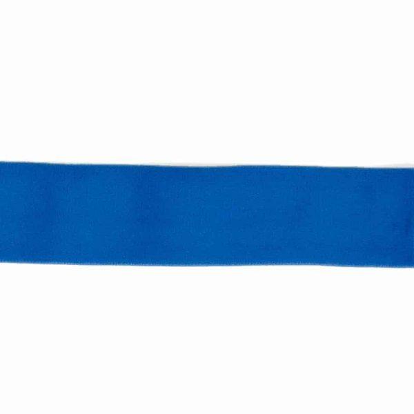 Elastiek blauw 40mm