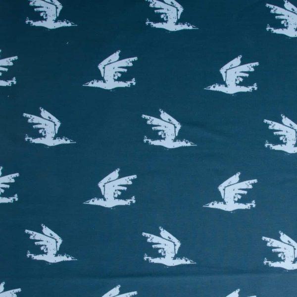 COUPON 1 meter About Blue - Birds are coming iets met birds 3 Aangepast