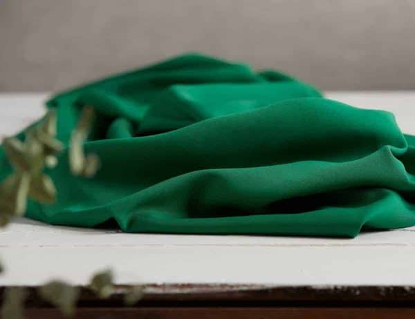 Meet Milk - Twill medium with TENCEL™ fibers - Blad Groen mm tencel twill medium leaf green D
