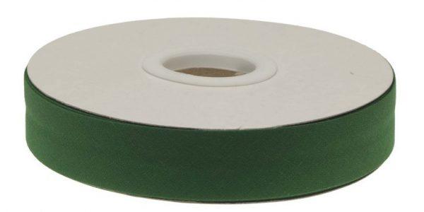 Gevouwen biaisband 20mm - Donkergroen donkergroen