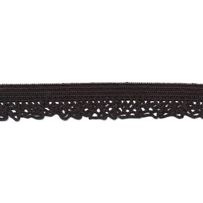 Elastisch kant - Zwart 12mm zwart 3