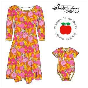 vintage in my heart- bombastic orange- pink