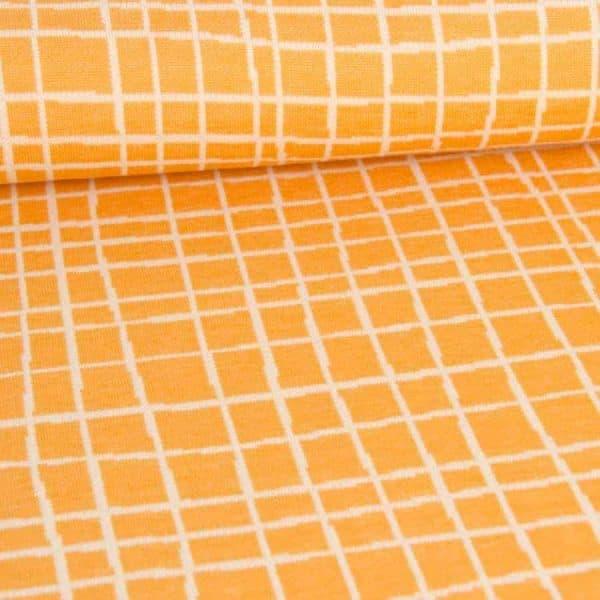 Albstoffe- Grid A72/17 (Life Loves You) Geel/Curry albstoffe grid geel1 Aangepast
