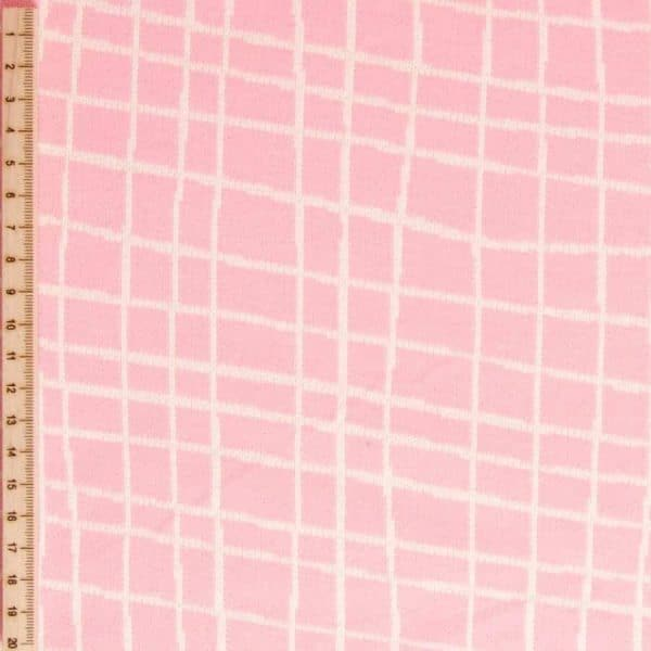 Albstoffe- Grid A03/17 (Life Loves You) Roze albstoffe grid roze Aangepast