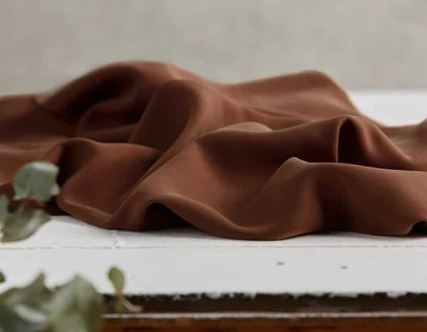 Meet Milk - Twill medium with TENCEL™ fibers - Brown mm tencel twill medium brown D