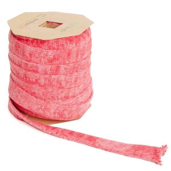 Albstoffe Plat koord Hoodie 2cm breed - flamma/roze sessie2803 652 Aangepast