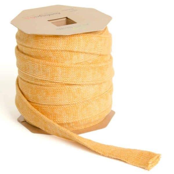 Albstoffe Plat koord Hoodie 2cm breed - curry/geel sessie2803 665 Aangepast