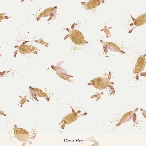 Family Fabrics - Turtles Turtles1