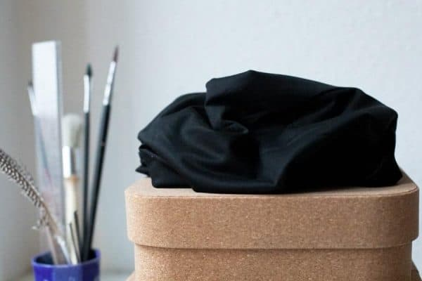 Meet Milk- Basic Stretch Jersey met TENCEL™ vezels- Black mm basic stretch black Aangepast
