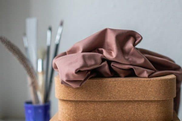 Meet Milk- Basic Stretch Jersey met TENCEL™ vezels- Old Rose mm basic stretch old rose Aangepast