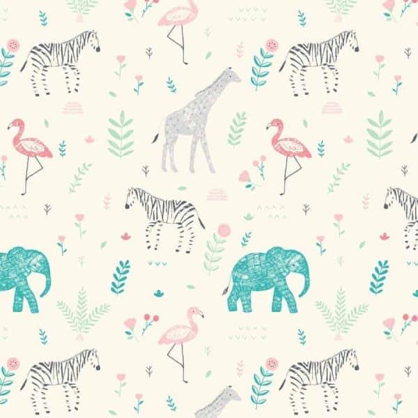 Katia - Katoen Popeline Savanna Animals p1 popeline savanna animals 2001 1 katia g Aangepast