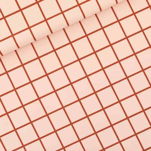 See You At Six - Grid - L - Lycra - Evening Pink-R Grid L Evening Pink Lycra SYAS summer 2020 01