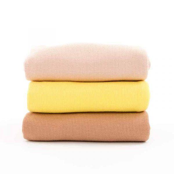 See You At Six - Sponge Terry Cloth - Golfinch Yellow Ribbing SYAS Summer 2020 07b 1