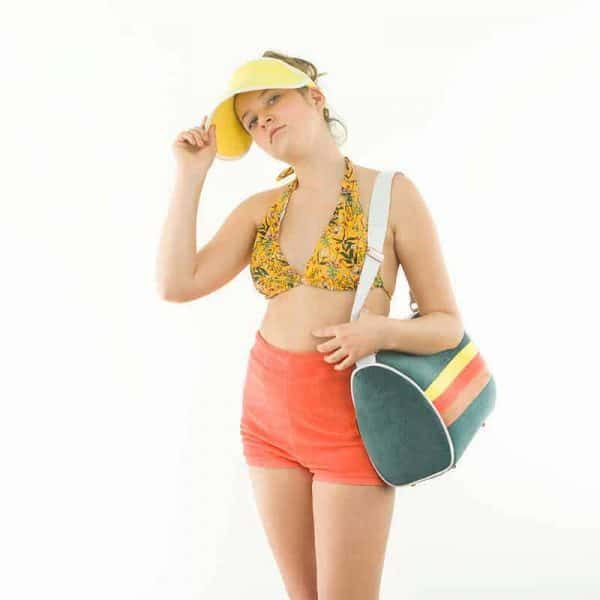 Coupon 50cm See You At Six - Summer Flowers - S - Lycra - Yolk Yellow - R Summer Flowers S Lycra Yolk Yellow SYAS Summer 2020 02b