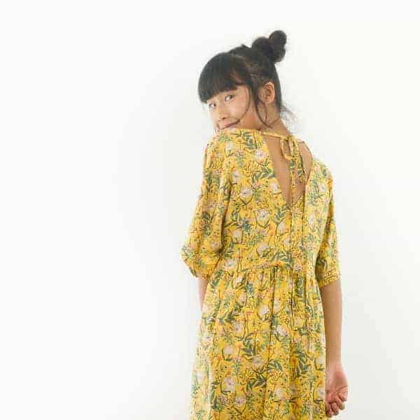 See You At Six - Summer Flowers - S - Viscose - Rayon Summer Flowers S Viscose Rayon Yolk Yellow 73b Aangepast