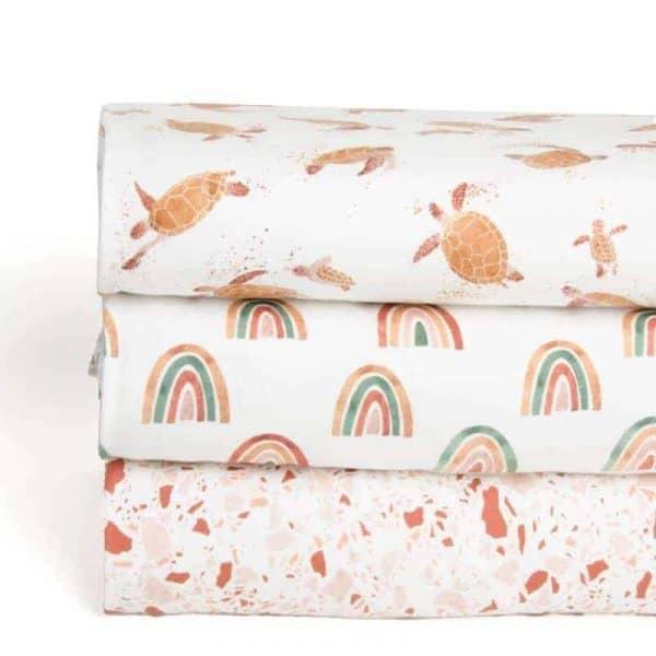 Family Fabrics - Turtles combi family fabrics 1