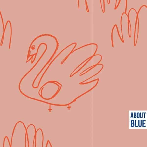 About Blue- Let me be a swan let me be a swan