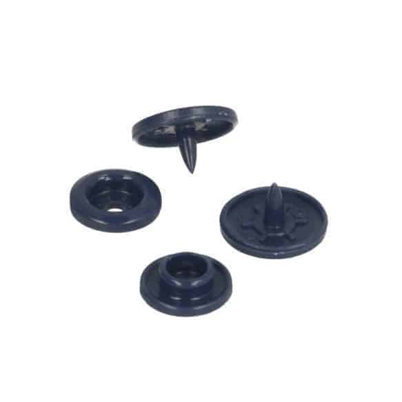 Kam snaps mat - set van 25stuks - donkerblauw 62827 211 4