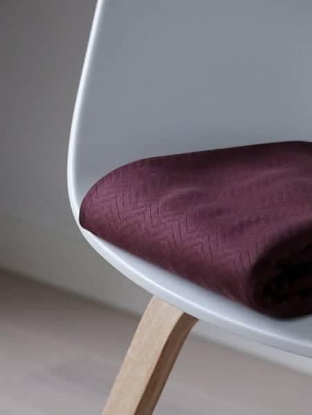Mind the Maker- Chevron Quilt Bordeaux (sweat) MM 8206 BORDEAUX 0