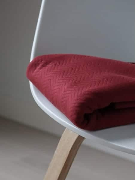 Mind the Maker- Chevron Quilt Red (sweat) MM 8209 RED 0