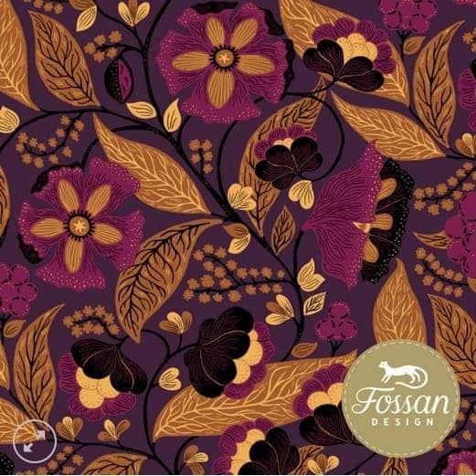 Fossan Maja Orange- Let op kleine drukfoutjes Jersey Maja Orange – Fossan Design Wholesale 1