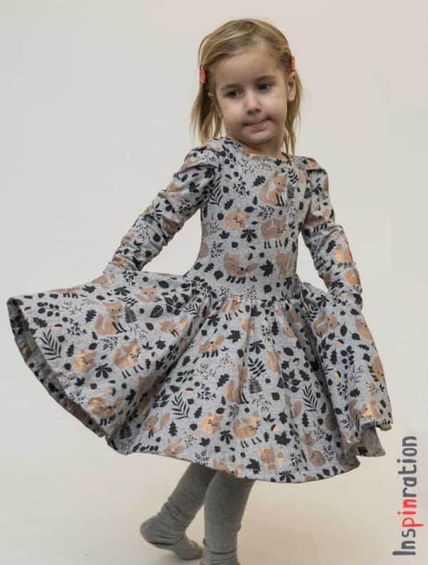 Sofilantjes - Regina Tuniek en Jurk Regina Dress Pleated Sofilantjes Patterns Inspinration c 776x1024 1