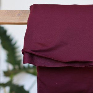 Koopjes light terry sweat maroon