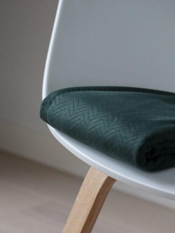 Mind the Maker- Chevron Quilt Green (sweat) IMG 57961