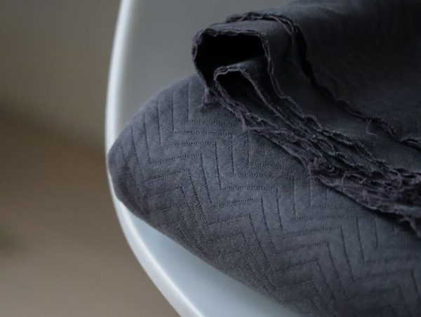 Mind the Maker- Chevron Quilt Asphalt (sweat) IMG 5835