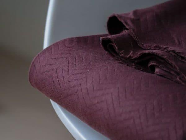 Mind the Maker- Chevron Quilt Bordeaux (sweat) IMG 5845