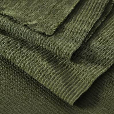 Mind the MAKER- organic woolen Ottoman Green Khaki LX3104 GREEN KHAKIa