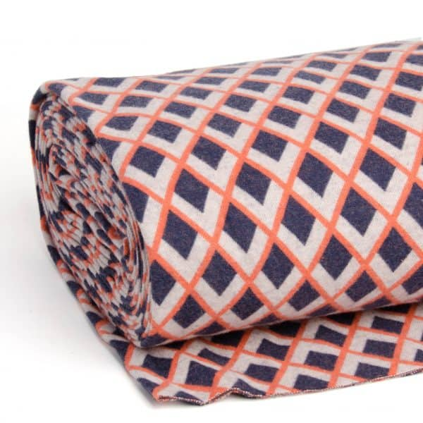 Albstoffe - Fatima Wooltouch - Marineblauw albstoffe wooltouch blauw scaled
