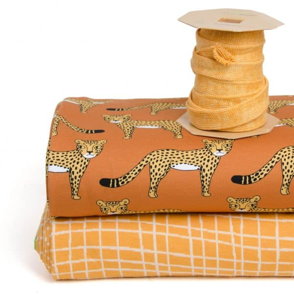 Eva Mouton - Cheetah (French Terry) combi panter