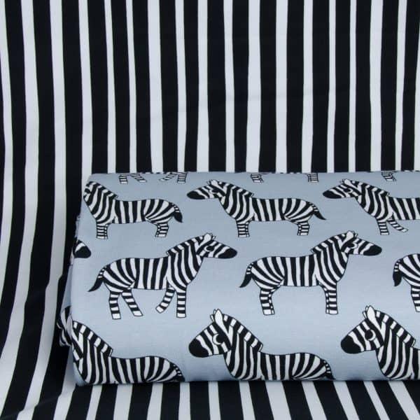 Eva Mouton - Zebra Stripes (French Terry) combi zebra3