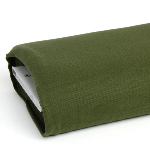 Mind the MAKER- organic woolen Ottoman Green Khaki green khaki