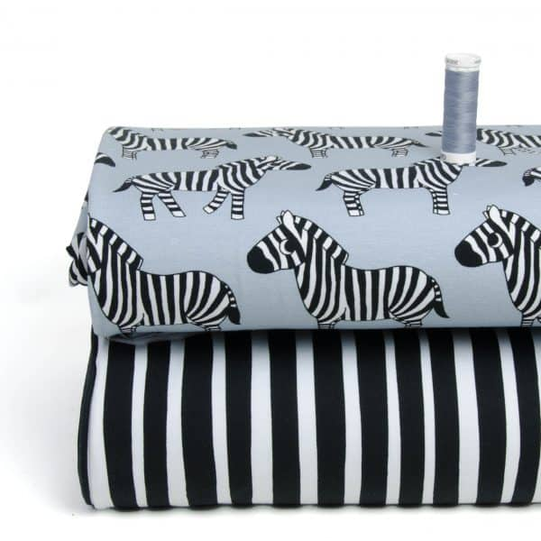 Eva Mouton - Zebra Stripes (French Terry) ombi zebra