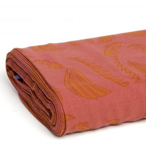 Koopjes parrot red viscose