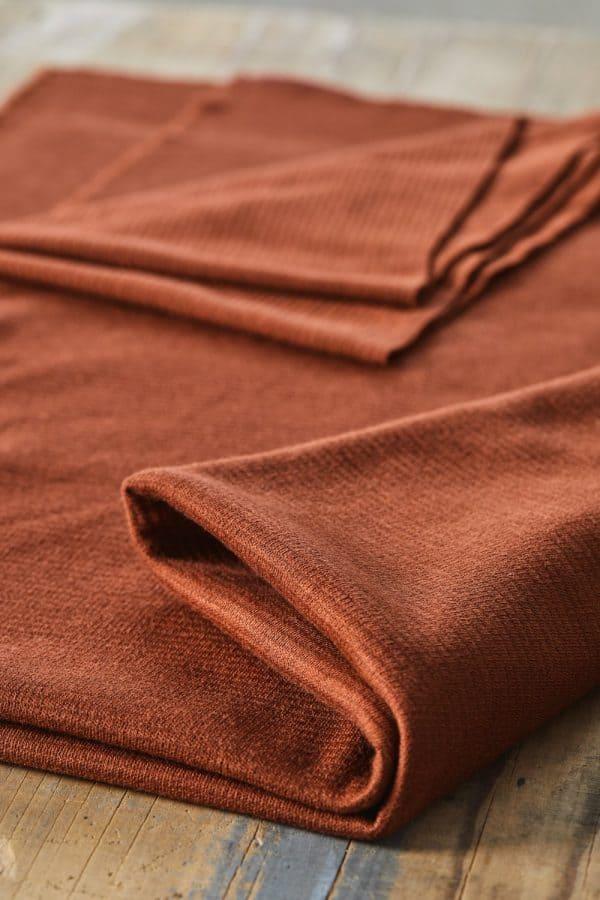 Mind the MAKER- organic woolen Ottoman Sienna woolen ottoman sienna