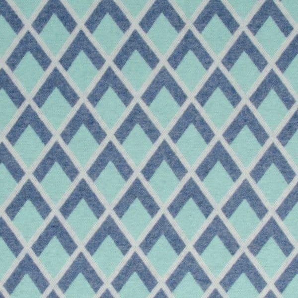 Albstoffe - Fatima Wooltouch - Pastelgroen wooltouch lichtblauwa