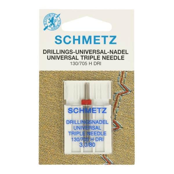 Schmetz - Drieling naald 3.0-80 130 705dri 80 drieling naald