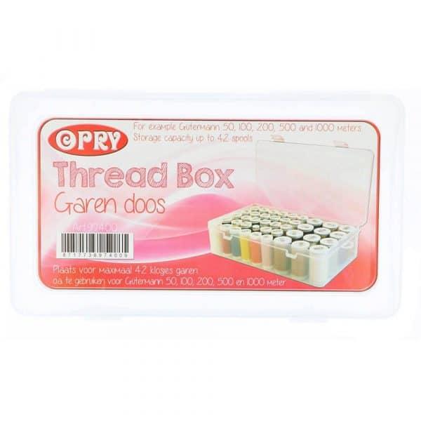 Opry Garendoos voor max. 42 klosjes garen 50-1000m 97400 10 opry spoelendoos 42